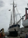 03 FLEUR DE PASSION IN DRY DOCK CAPE TOWN